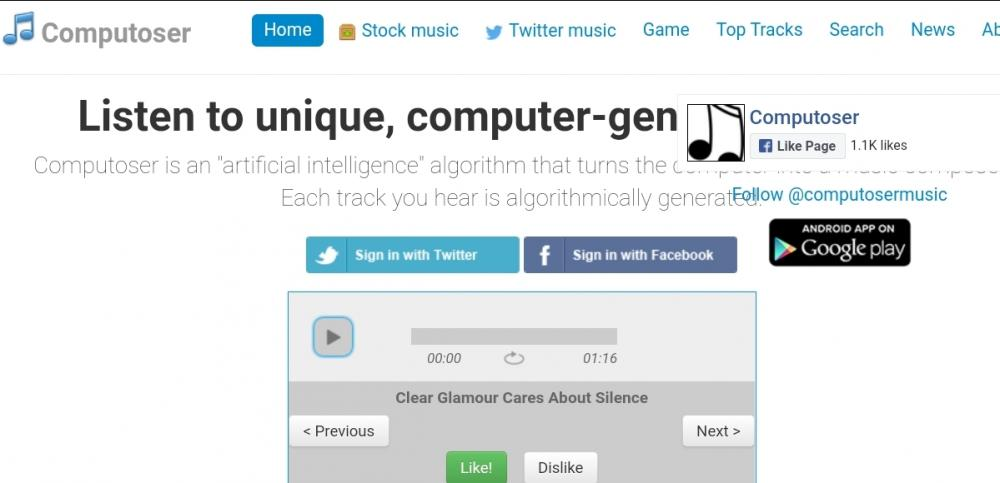 Computoser Website
