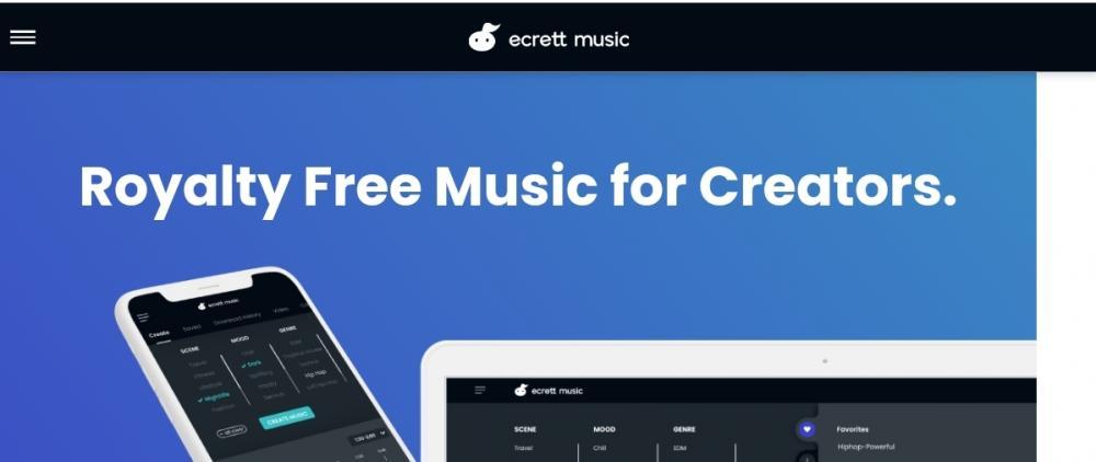 Ecrett Music Website