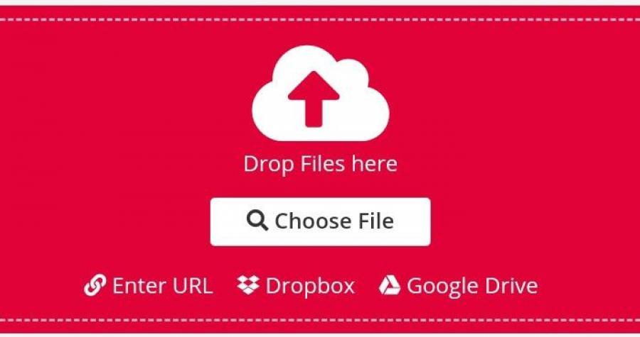 PDF2Go upload file