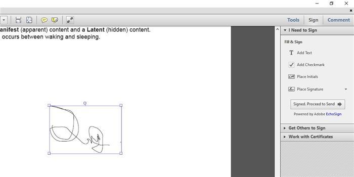 eSign with Adobe step 5